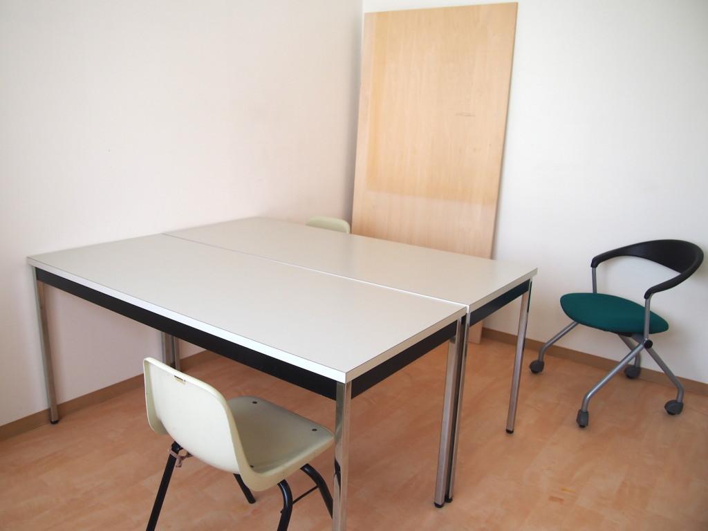 会議室は授乳室として利用可能