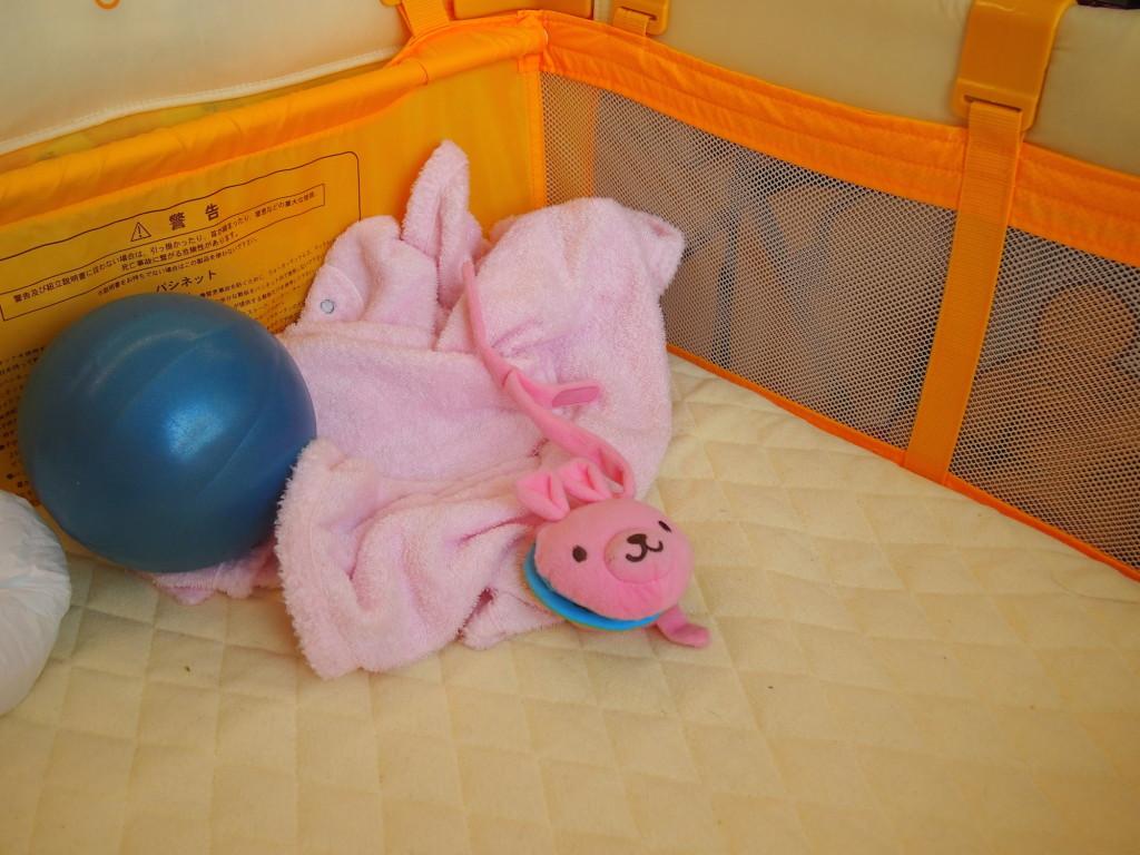 赤ちゃんのためのベビーベッドの持ち込み可能
