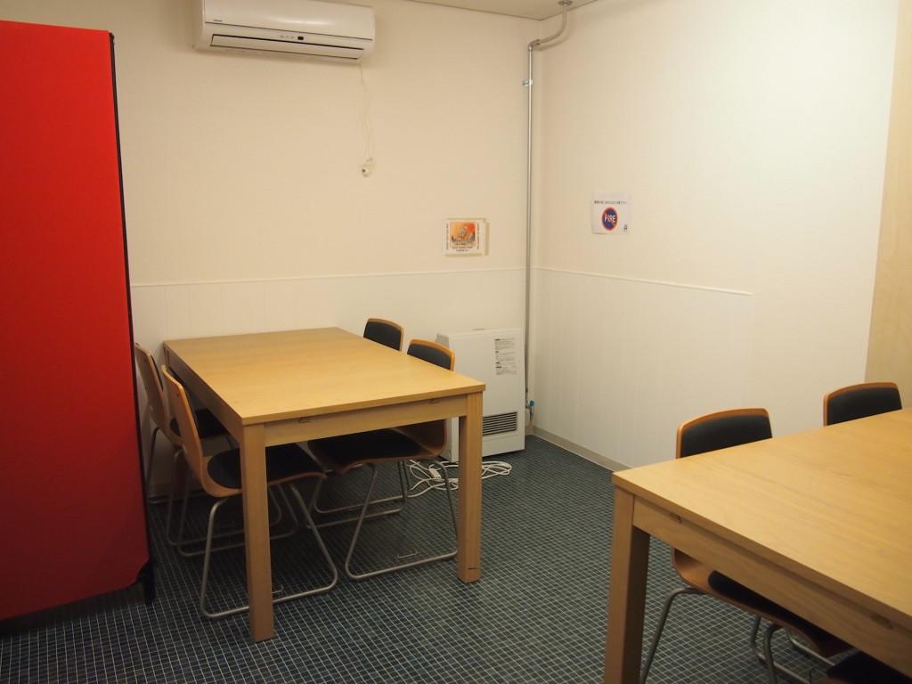 会議や打ち合わせに使えるカンファレンスルーム