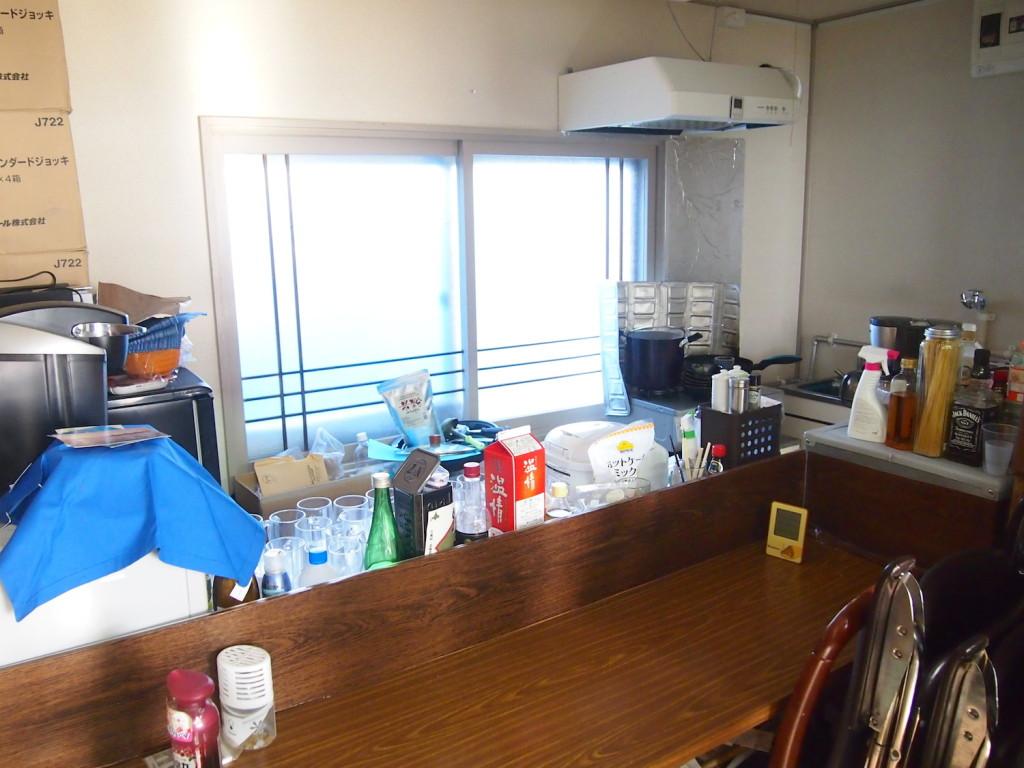 保健所の営業許可のあるキッチン