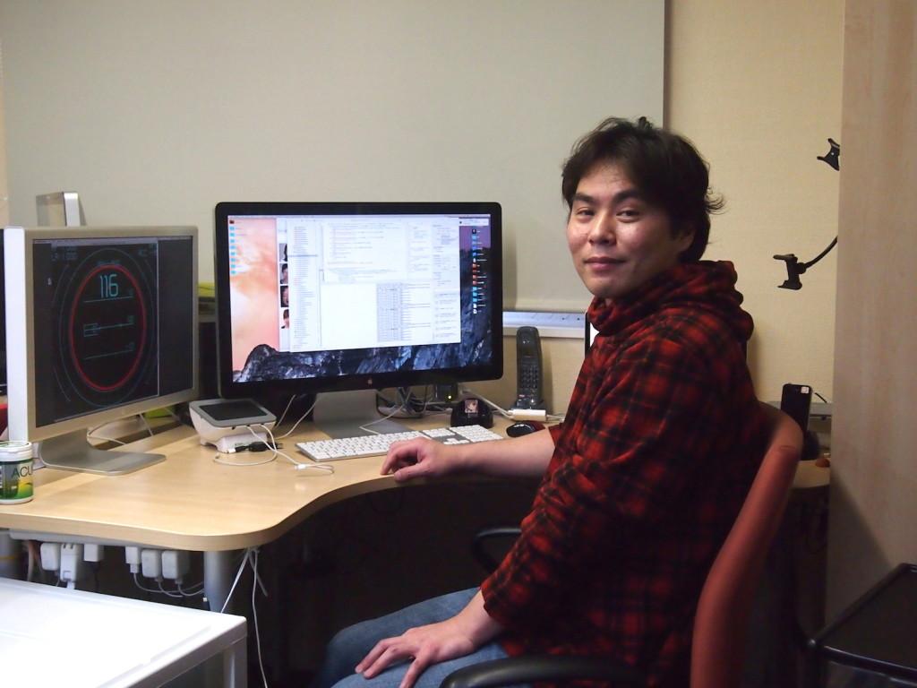 有限会社たま代表取締役社長、松浦伸也さん