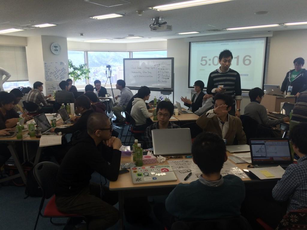 Startup Weekend Sapporoコーチの時間