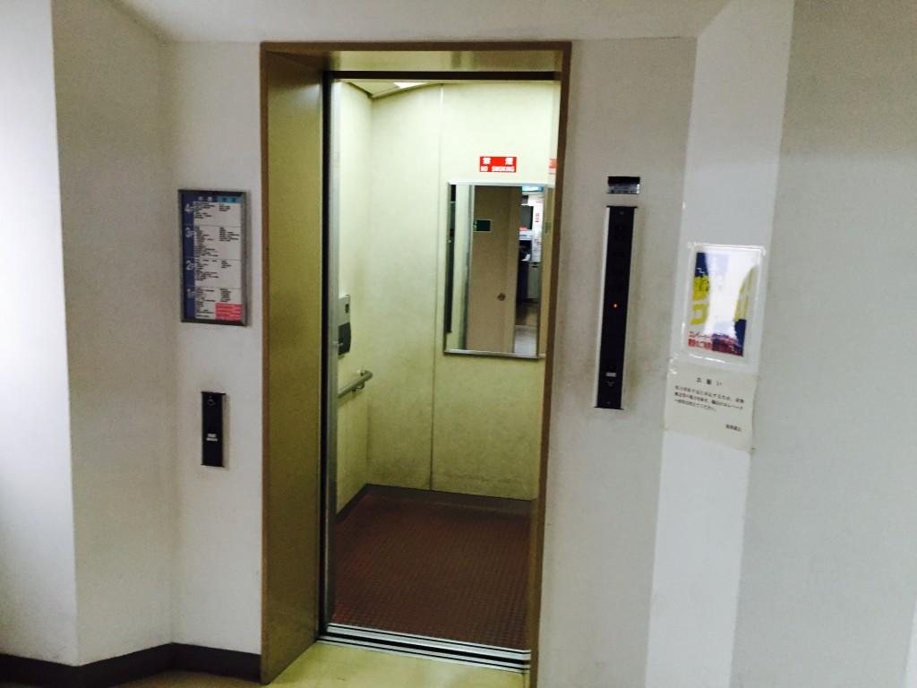 室蘭市役所 エレベーター