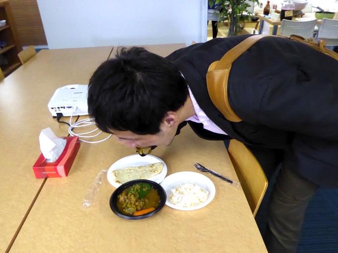スープカレーの試食