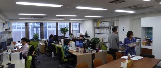 Gear8のオフィスを別角度から