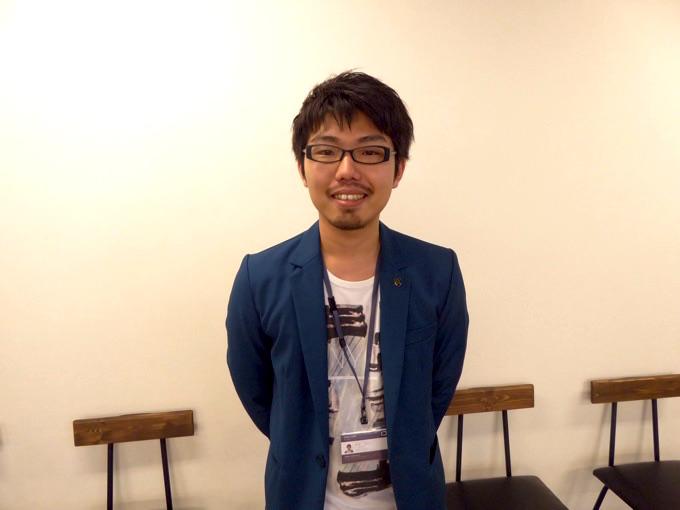 株式会社INDETAILゲーム運営事業部部長の宮津信之介さん