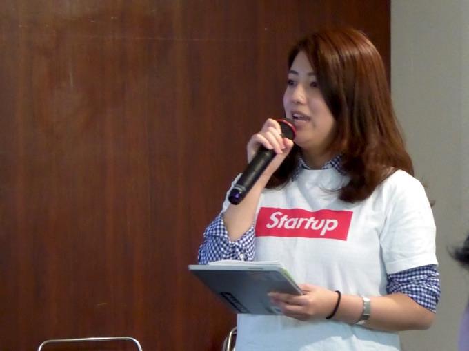 司会進行はさくらインターネット株式会社スタートアップ広報の鎌田真依さん