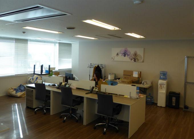 9Fオフィスの執務室