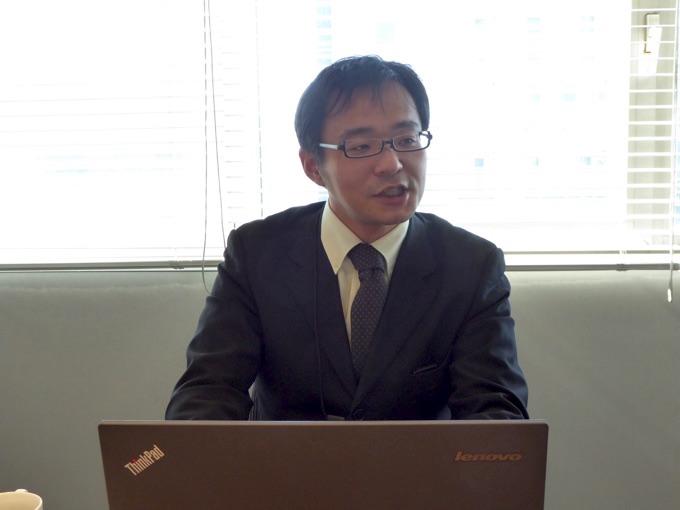 ビットスター株式会社サービス開発部主任の照井美徳さん