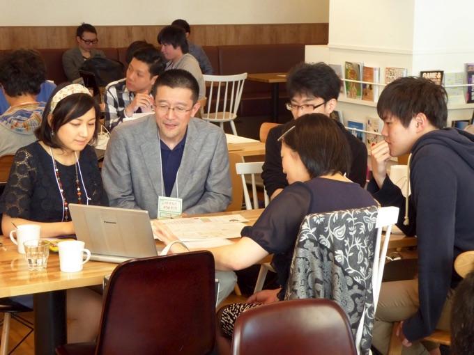 ムラタオフィス株式会社 代表取締役 村田利文さんのコーチの様子