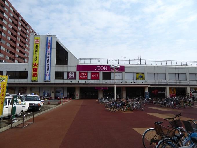 東札幌駅を降りてすぐのダイエーはイオンになっていました