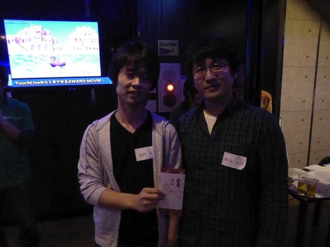 Aリーグ2位株式会社クラヴィスの岡本・西村ペアにはクラヴィスさんからビール券が贈られます