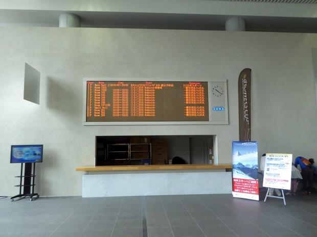 札幌コンベンションセンター案内板