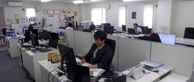オフィスの様子