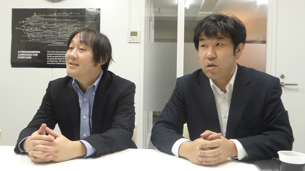 菊池社長と清水取締役