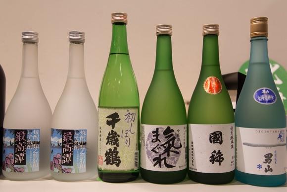 北海道のお酒を揃えました(1)