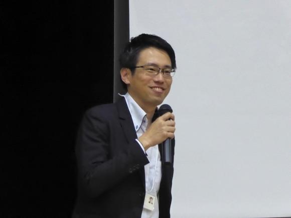 オーガナイザーの株式会社インセンブルの濱内勇一さん