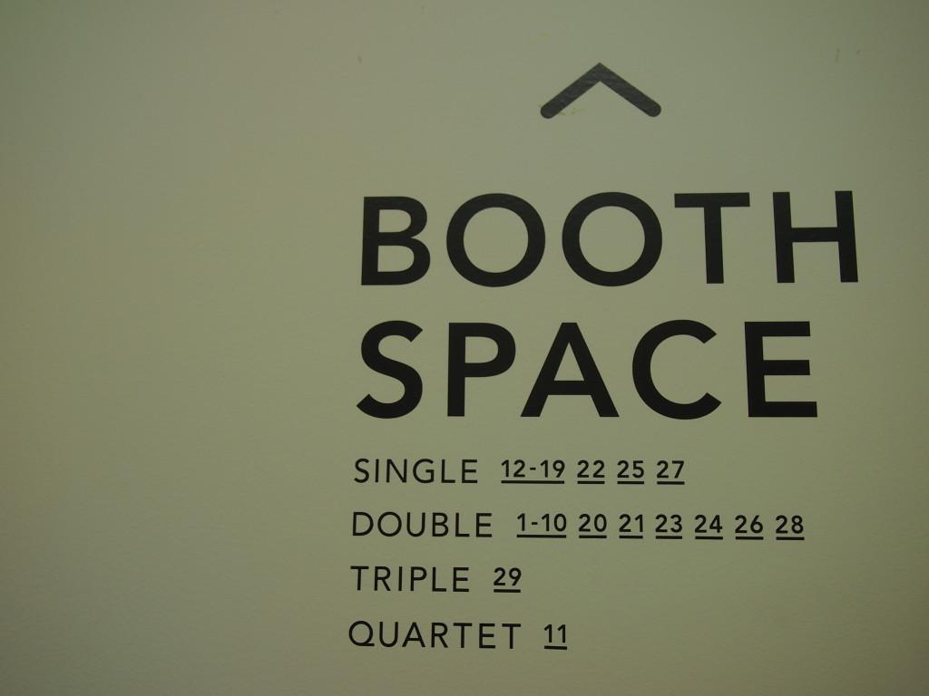 BULBがあるのはQUARTET11番ブース