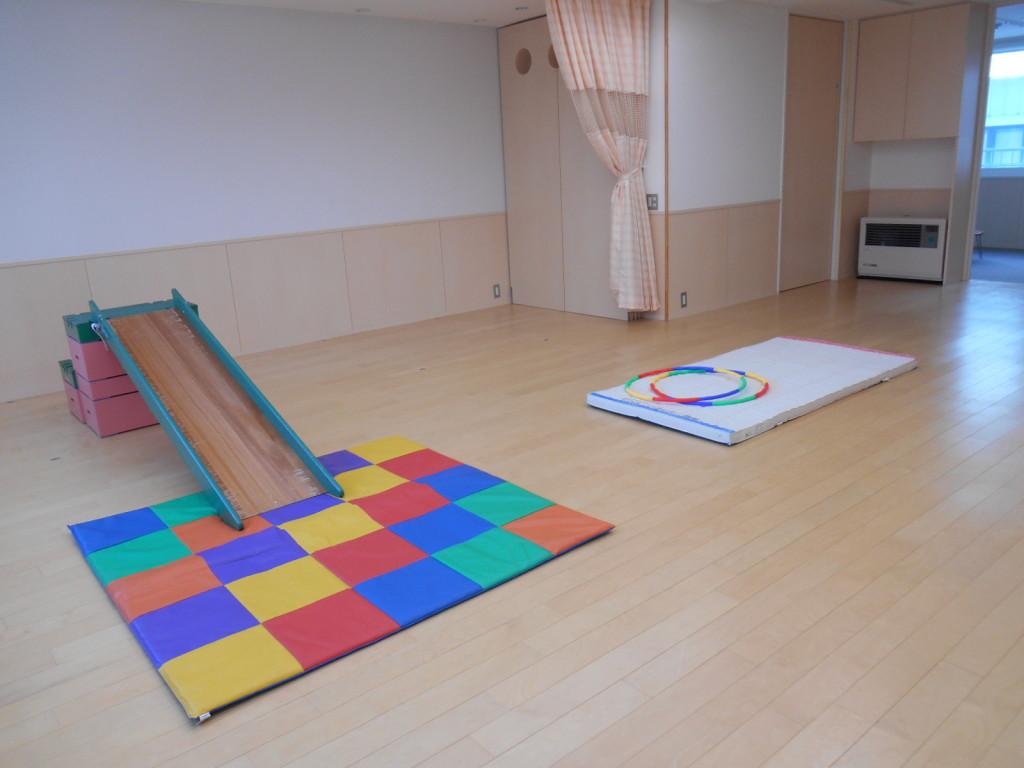 子供たちが遊ぶスペース