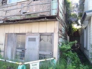 官公庁オークションで落札された祝津町の土地付建物