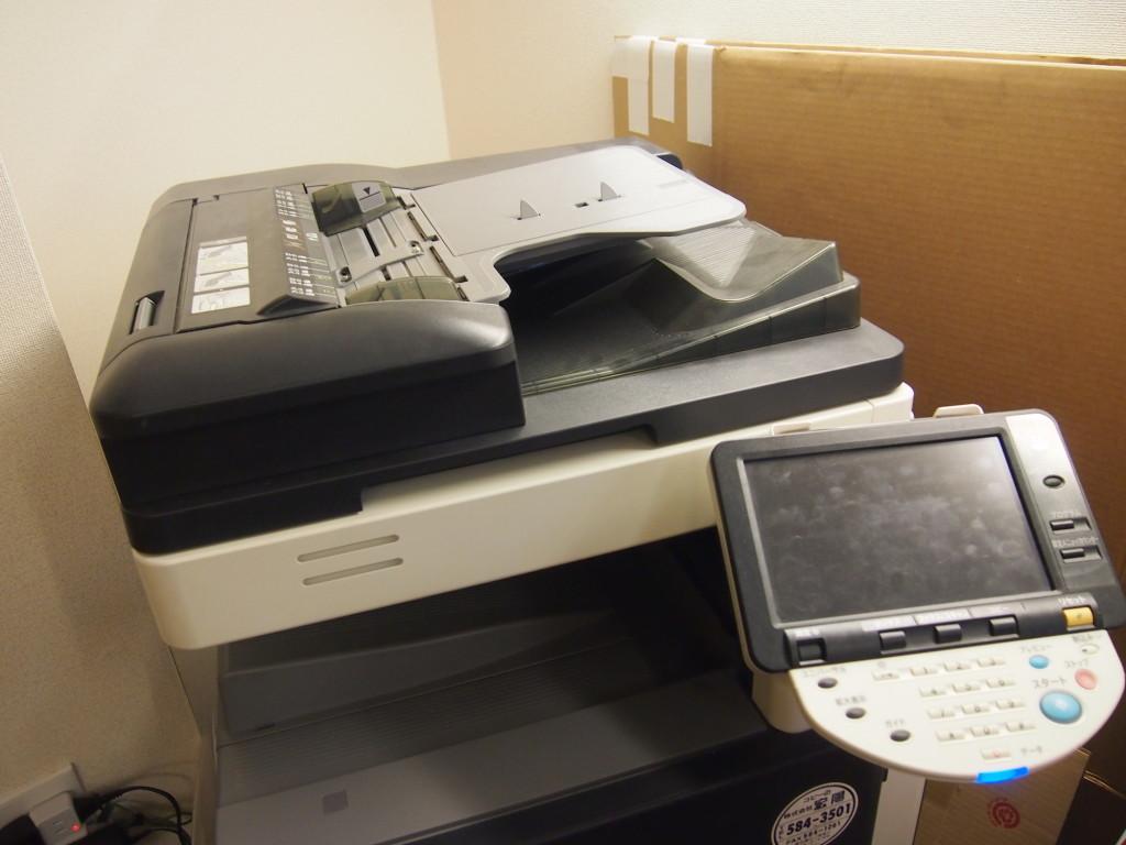 無線LAN、コピー機などの複合機といったインフラの完備