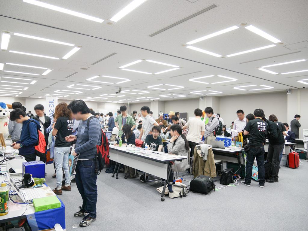 OSC2015北海道に行ってみた! – 満員御礼!オープンソースの祭典