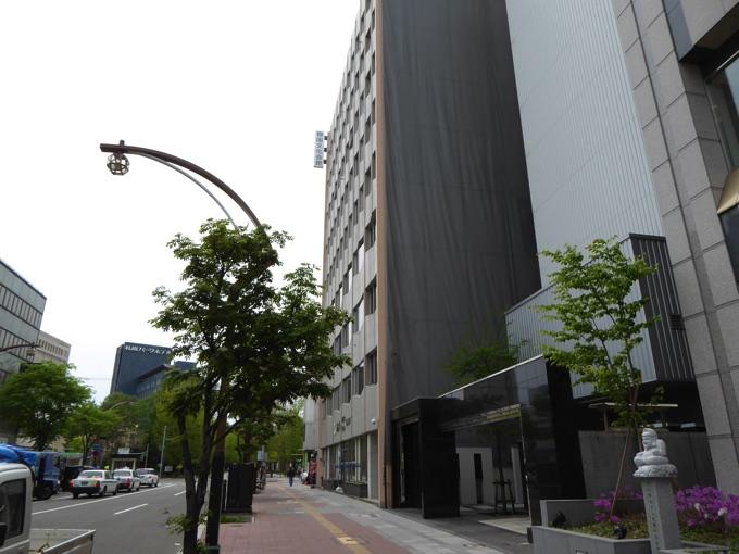 韓国文化会館ビルの外観