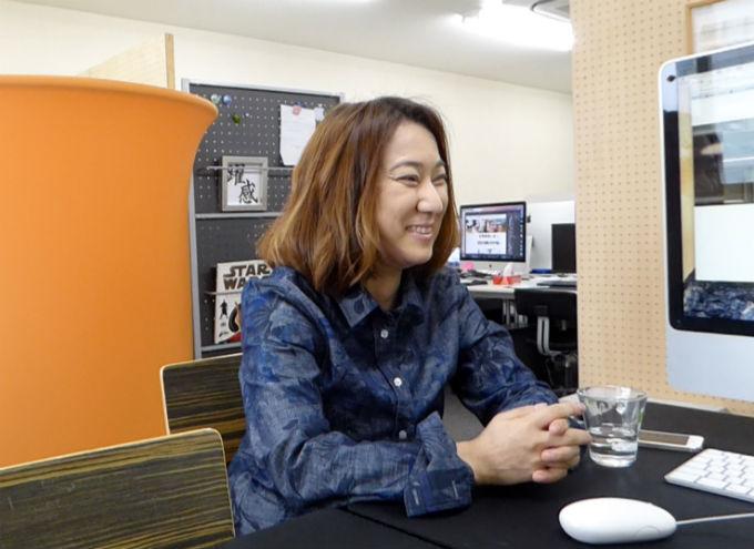 代表取締役社長の李さん