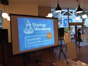 Startup Weekend Sapporo Vol2開始