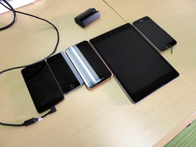 スマートフォン・タブレット端末