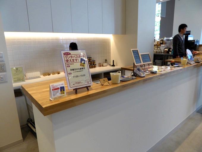 ミライストカフェ・カウンター