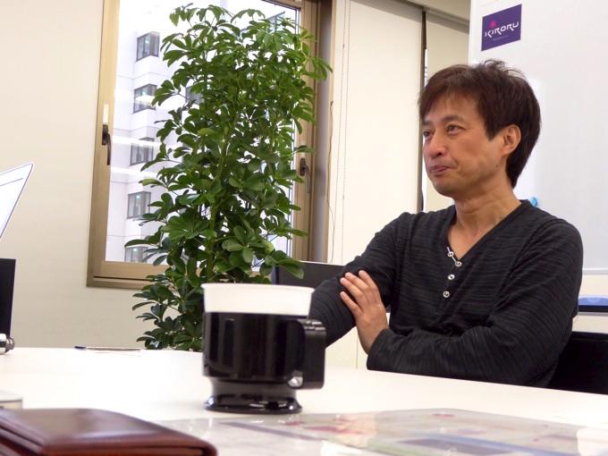 株式会社キロル代表取締役の坂下賢司さん