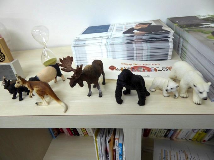 Gear8の動物たち