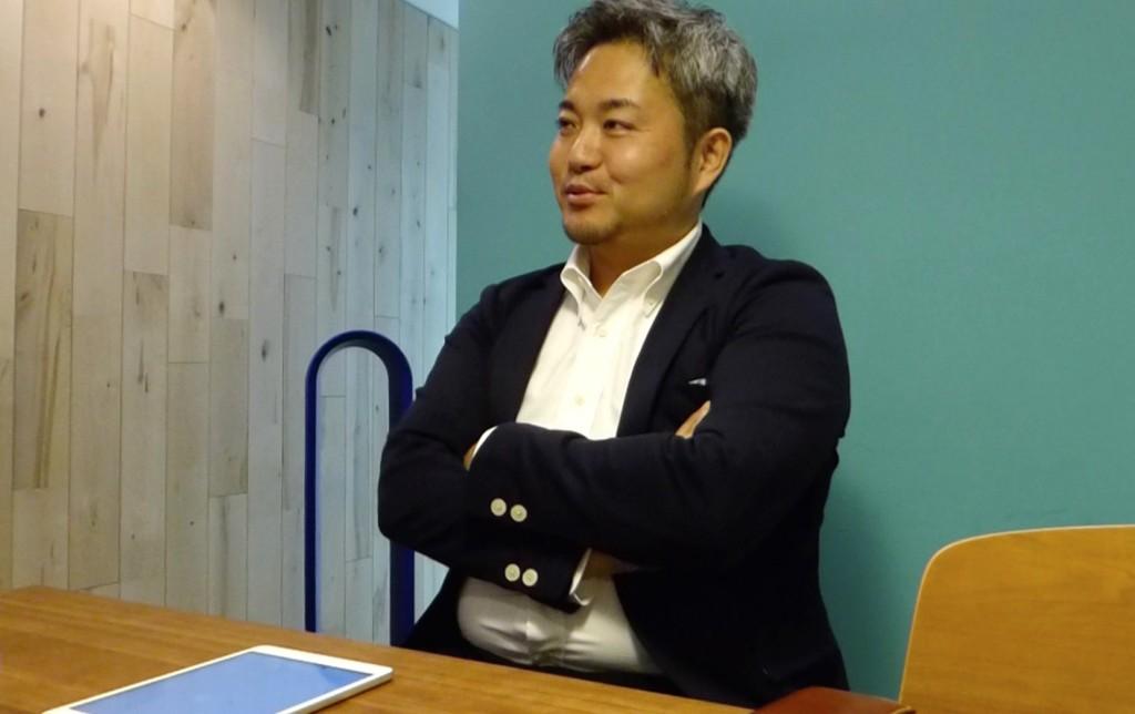 にこやかな株式会社Gear8代表取締役水野晶仁さん