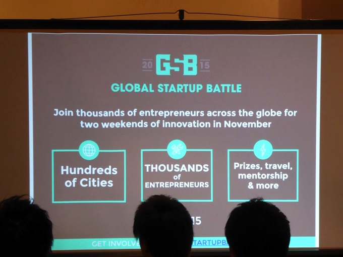 GLOBAL STARTUP BATTLE