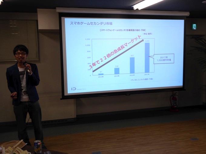 株式会社INDETAILゲーム運営事業部部長の宮津信之介さんからゲーム運営事業部の紹介です