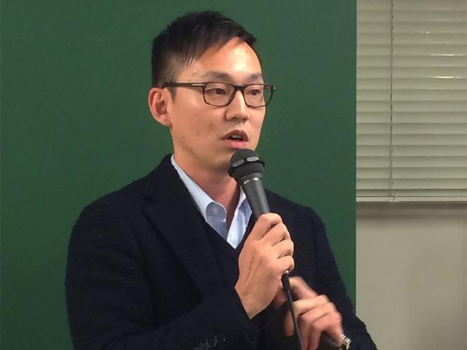 株式会社INDETAIL代表取締役の坪井大輔さんより、乾杯の挨拶
