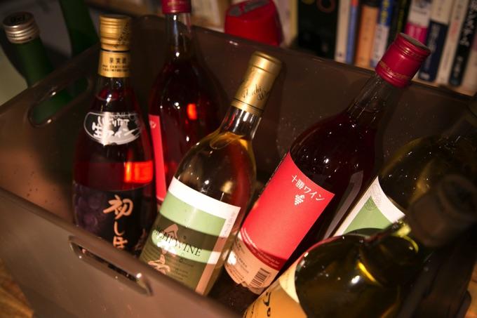 北海道産のワイン
