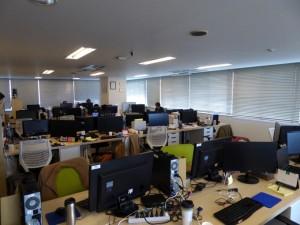 8Fオフィスの様子