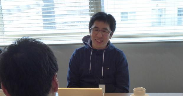 ビットスター株式会社の前田章博社長。終始にこやかにインタビューに答えていただきました