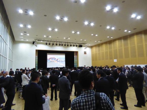 第1回 札幌 地域クラウド交流会の様子。開始前