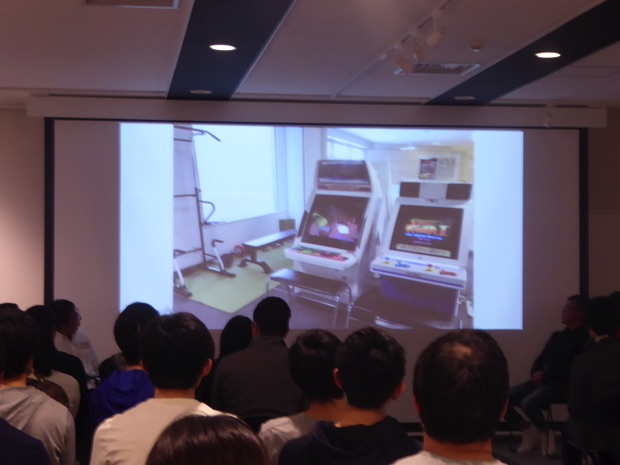 インフィニットループの「職場・オフィス環境」では社内にあるゲーム機を紹介。