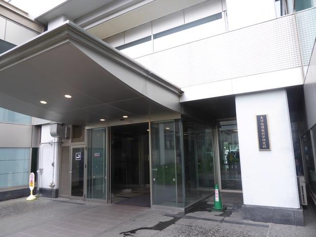 北海道工学部大学院の情報科学研究科棟