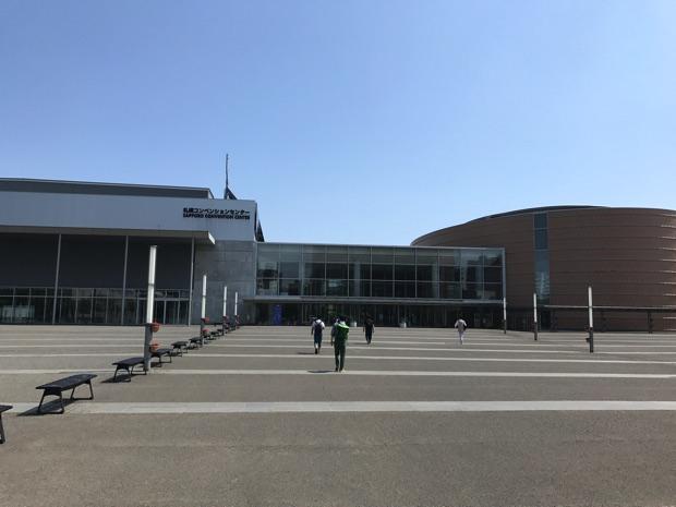 OSC2017 コンベンションセンター 正面