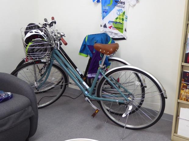 自転車部の自転車
