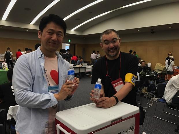 OSC2017 日本PostgreSQLユーザ会 北海道支部 水配布