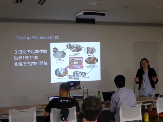 Startup Weekendの説明