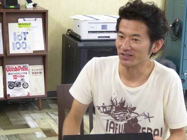 デリバリーイノベーション本部 札幌テクノロジーインテグレーション室 室長の川崎進さんにインタビュー