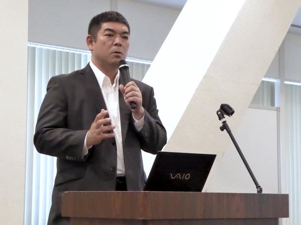 日本マイクロソフト株式会社デバイスパートナー営業統括本部業務執行役員IoTデバイス本部長 菖蒲谷雄さん