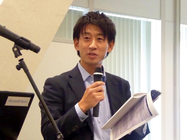 司会は日本マイクロソフト株式会社の坂井俊介さんです。